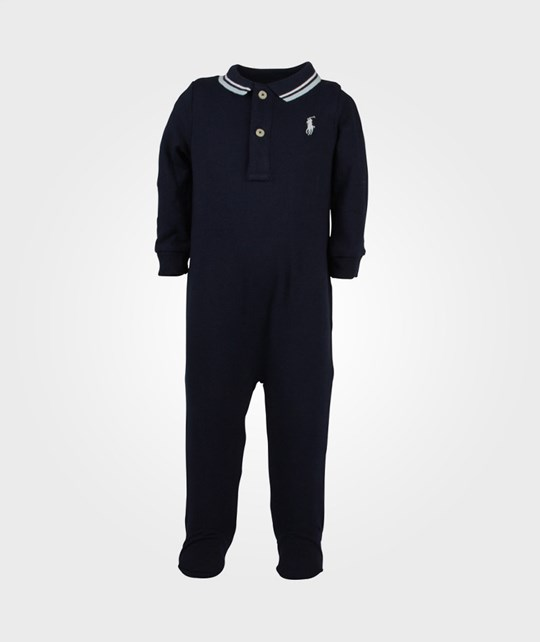 Ralph Lauren Polo Coverall Mesh Navy Blue