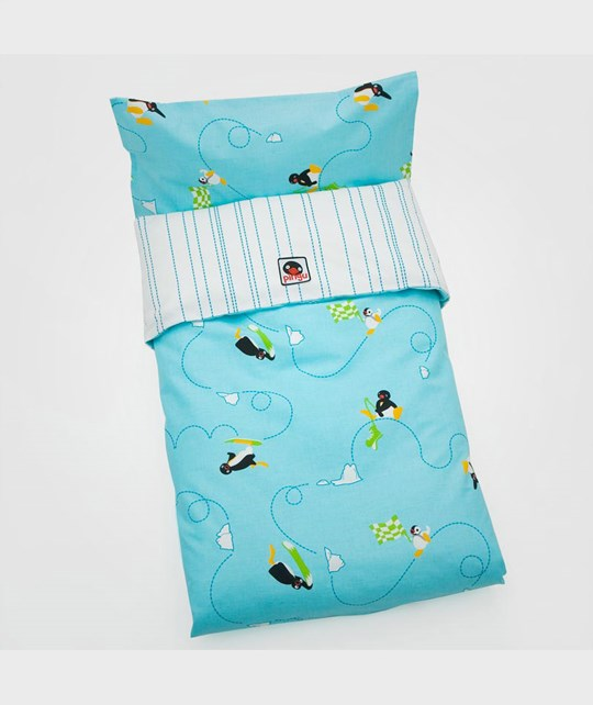 Pingu Bed Set Trolley Turquoise