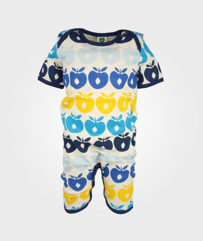Summersuit Multi Apples Navy