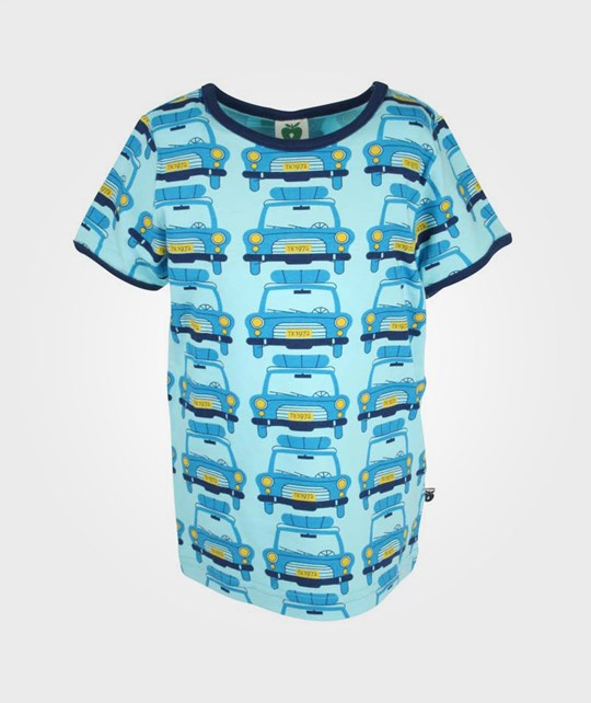 Småfolk T-Shirt Cars Blue Blue