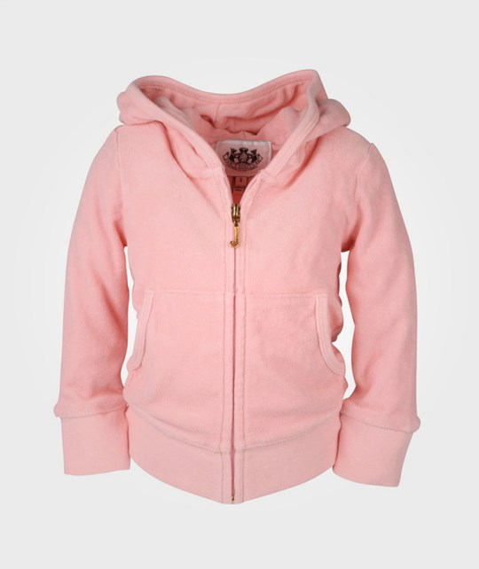 Juicy Couture Basic Hoodie Dragonfruit Pink