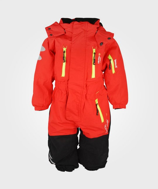 Isbjörn Of Sweden Expedition Winter Jumpsuit Red Red