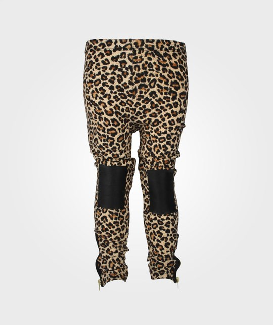 The BRAND Knee Tights Leopard Multi