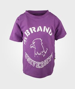 The BRAND University Tee Purple