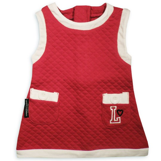 Lundmyr Of Sweden Dress Quilted Red Red
