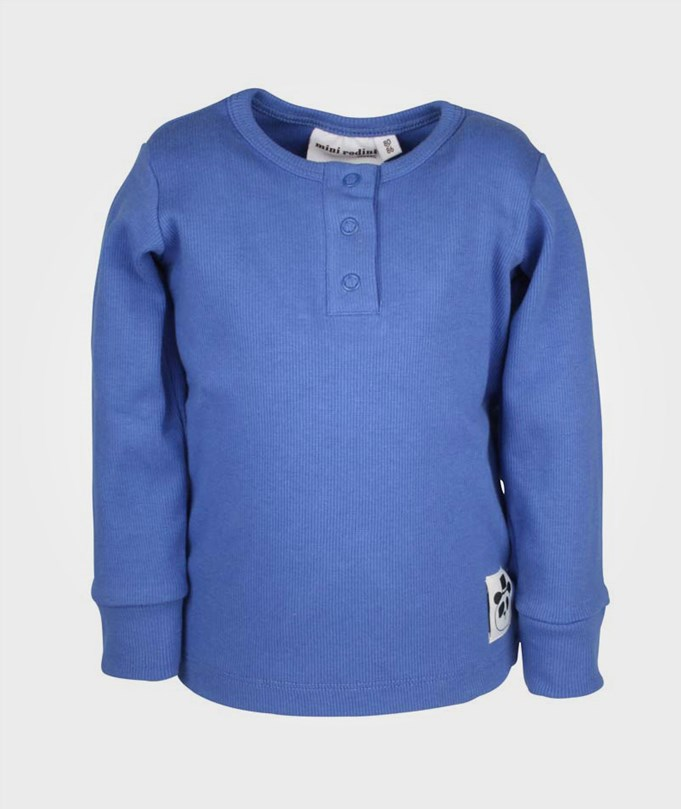 Basic L/S Grandpa Blue