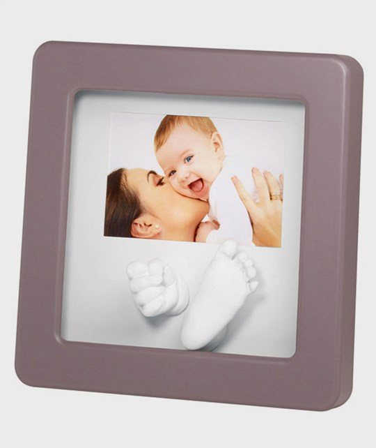 Baby Art Photo Sculpture Frame Taupe Multi