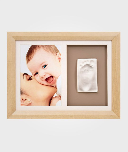 Baby Art Wall Print Frame Natural пестрый