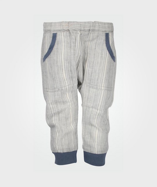 Wheat Trousers Rib Blue Blue