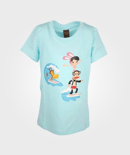 Paul Frank T-shirt Bunny Girl Blue