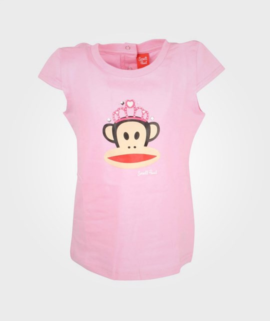 Paul Frank T-shirt Julius Crown Pink Pink