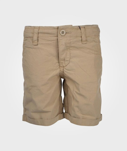 Woolrich Light Poplin Shorts Khaki Beige