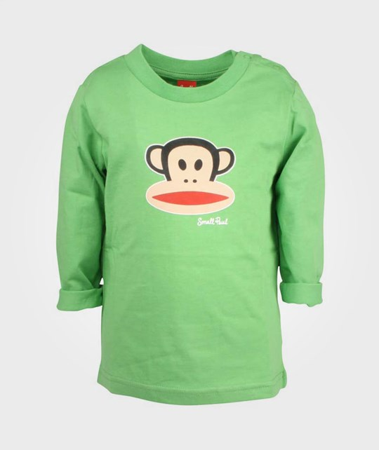 Paul Frank T-shirt Basic Boy Green Green