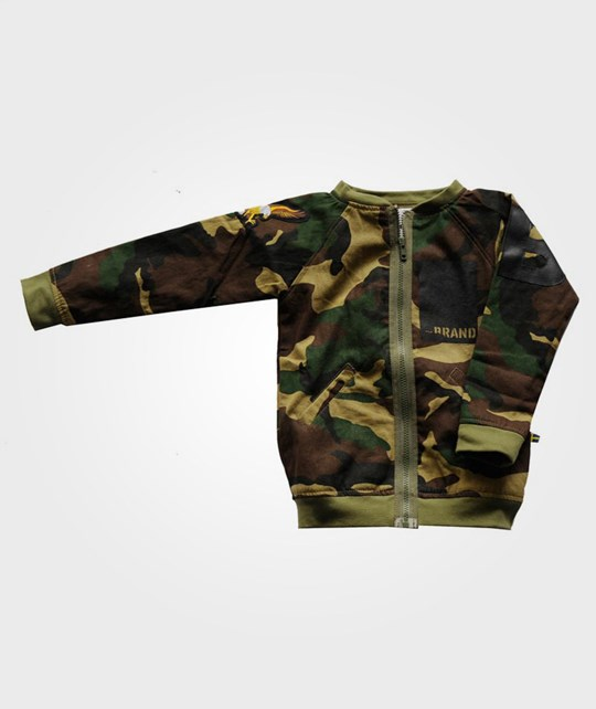 The BRAND Bomb Jacket Camo 2012 Green