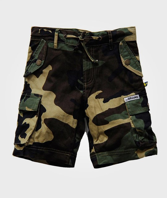 The BRAND Army Shorts Camo Green