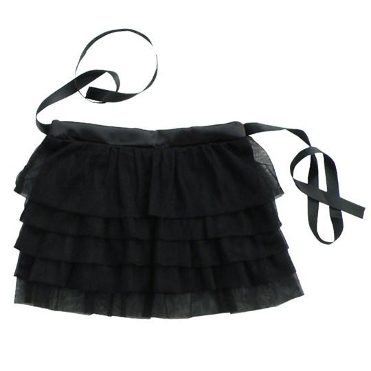 Starkat Skirt Black Flounce Black