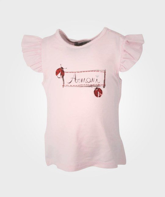 Armani Junior Cipria T-shirt Pink