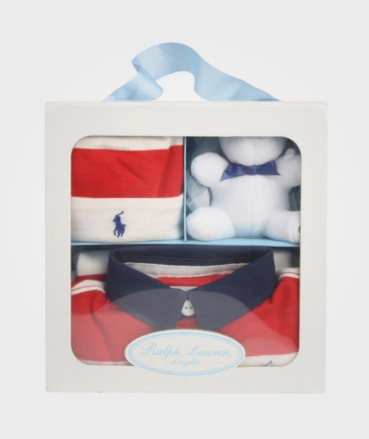 Ralph Lauren Rugby Coverall Gift Box Red Red