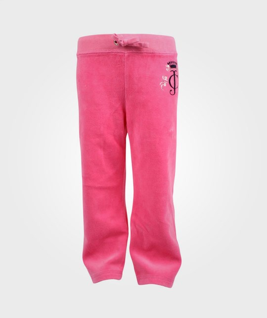 Juicy Couture Pants Iconic Crown Pink Pink