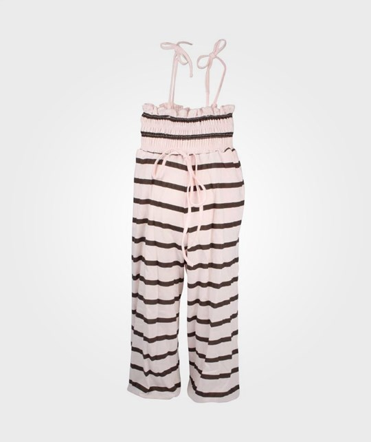 How To Kiss A Frog Sandy Jumpsuit Powder Brown Pink