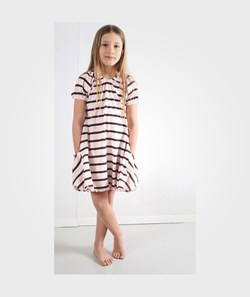How To Kiss A Frog Basic Dress Powder Brown