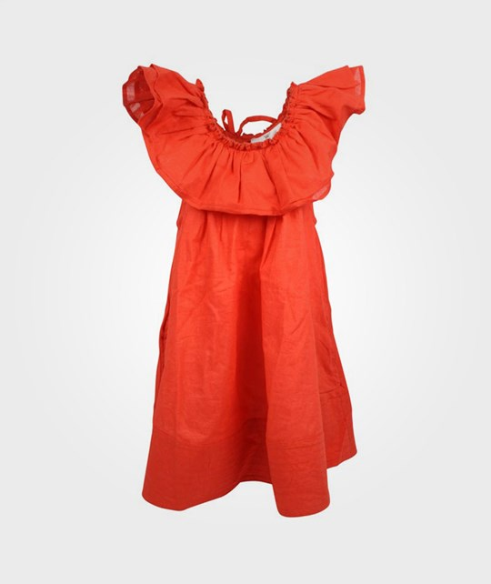 How To Kiss A Frog Elena Dress Poppy Red Red
