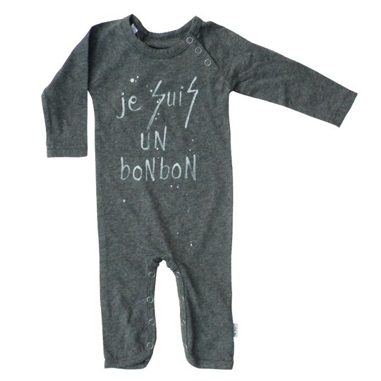 Starkat Bodysuit Grey Bonbon Black