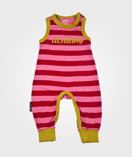 Lundmyr Of Sweden Playsuit Pink/Red/Green Pink
