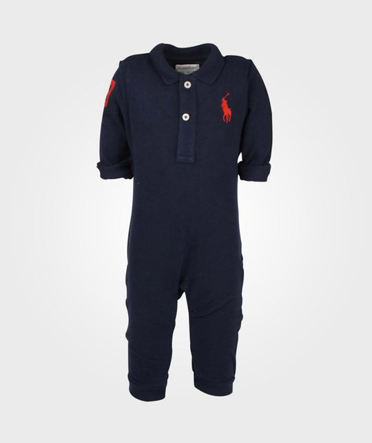 Ralph Lauren Big PP Polo Coverall Navy Blue