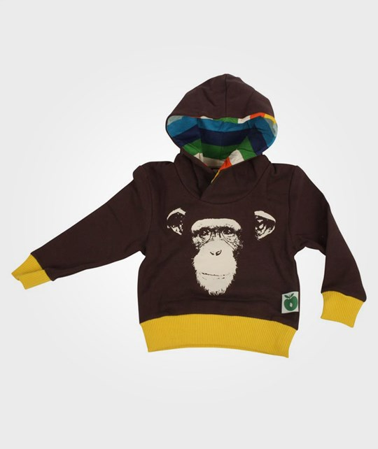 Småfolk Sweatshirt Monkey Brown