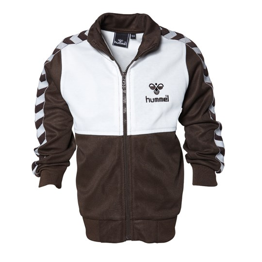 Hummel Lukas O.S Zip Sweater Brown Brown