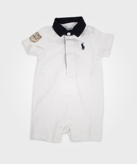 Ralph Lauren Quilted Rugby White White