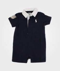 Ralph Lauren Quilted Rugby Navy
