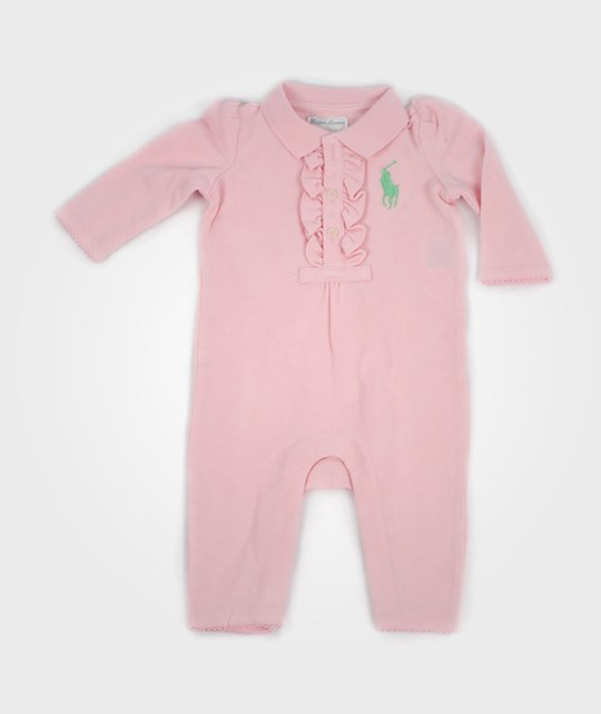 Ralph Lauren Big PP Polo Coverall Pink