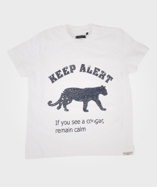 IKKS Tee Shirt Keep Alert White