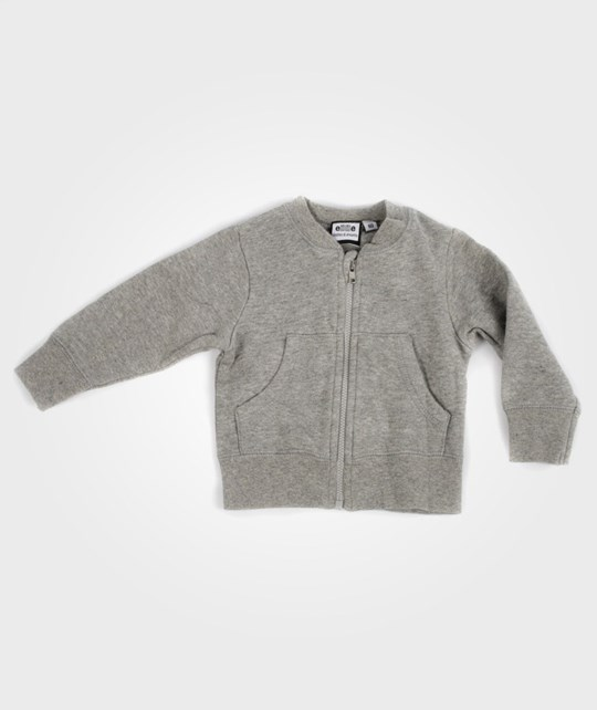 ebbe Kids Eberhart Sweat Zip Greymelange Black