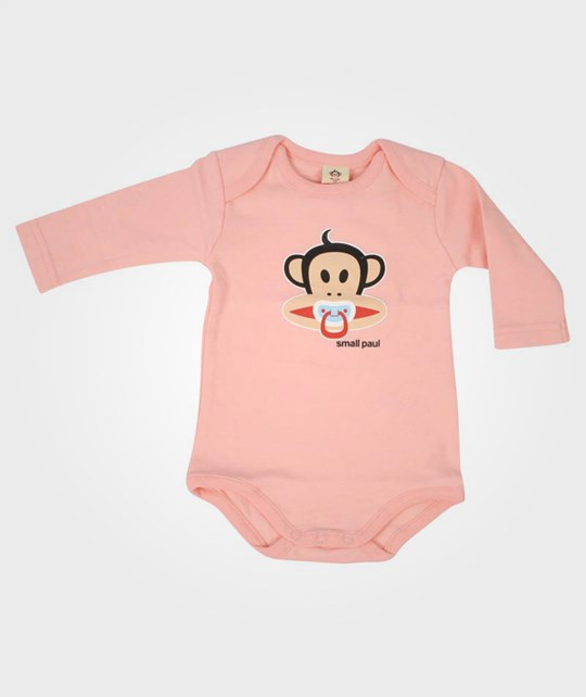 Paul Frank Body L/S Pacifier Pink Pink