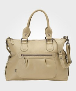 OiOi Tote Slouch Olive Grey