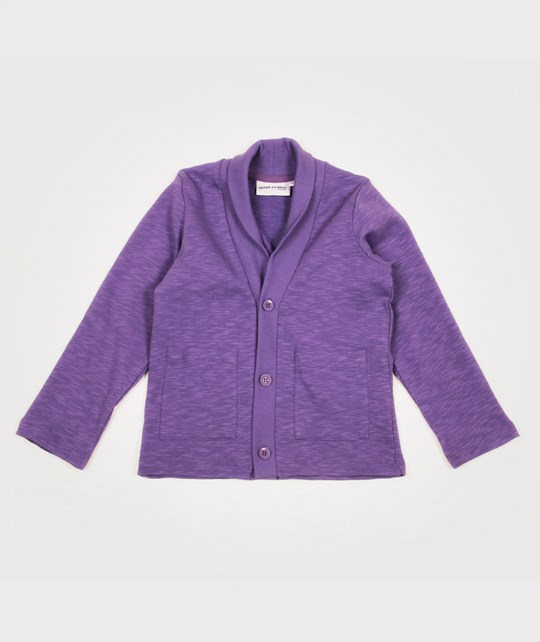 Mini Rodini Dudley Cardigan Lilla Purple