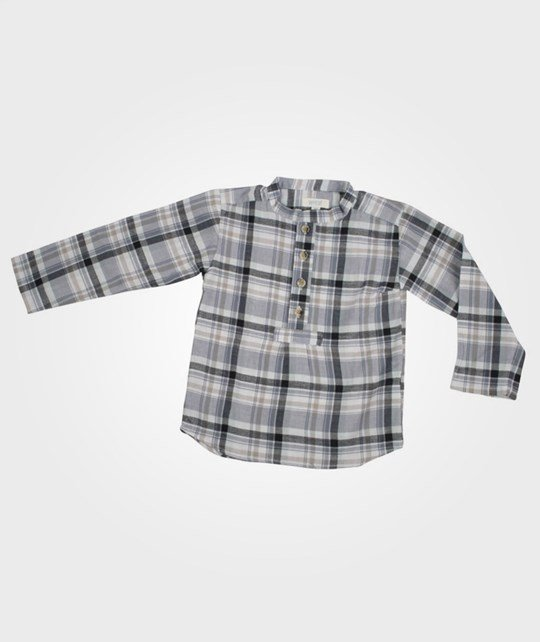 Wheat Shirt Alfred Navy Sort