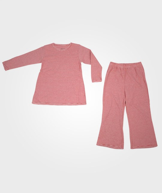 Wheat Girl Pyjamas Rib Red Red