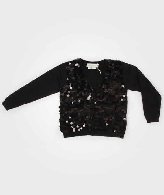 Little Paul & Joe Sylvian Cardigan Black