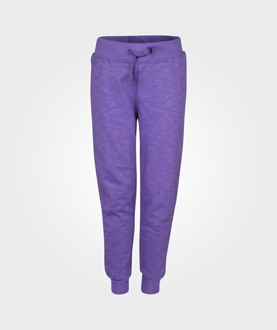 Mini Rodini Sweat Pants French Terry Lilla Purple