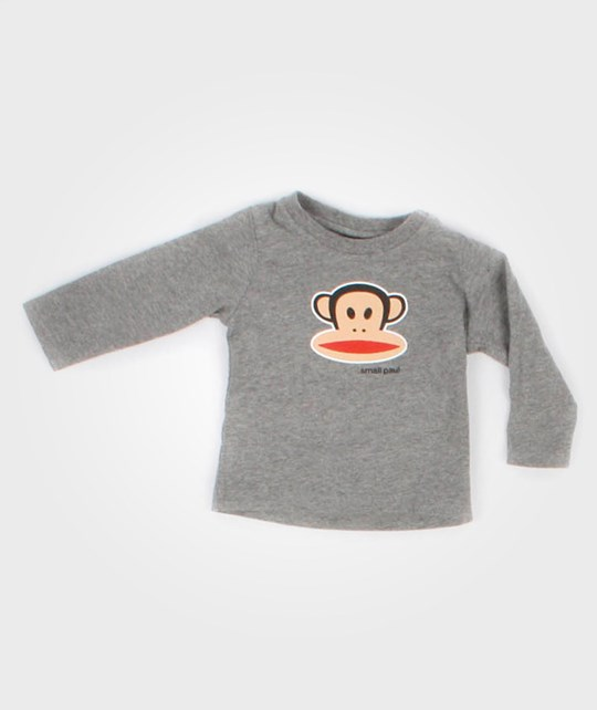 Paul Frank L/S Julius Basic Grey Melange Black