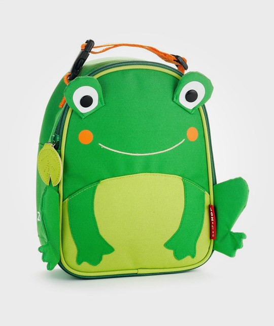 Skip Hop Zoo Insulated Lunch Bag Frog Multi