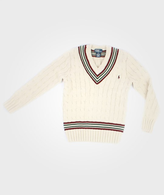 Ralph Lauren L/S Cricket Cotton Cream Beige