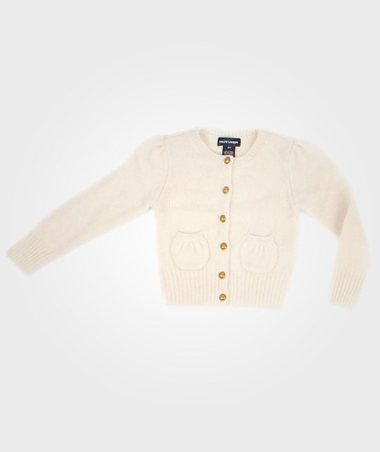 Ralph Lauren Cardigan  Harvard Cream White