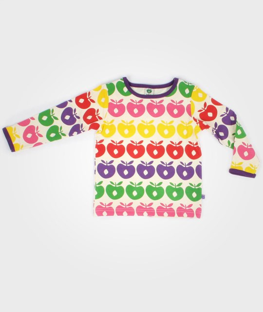 Småfolk T-Shirt L/S Apples Multi Multi