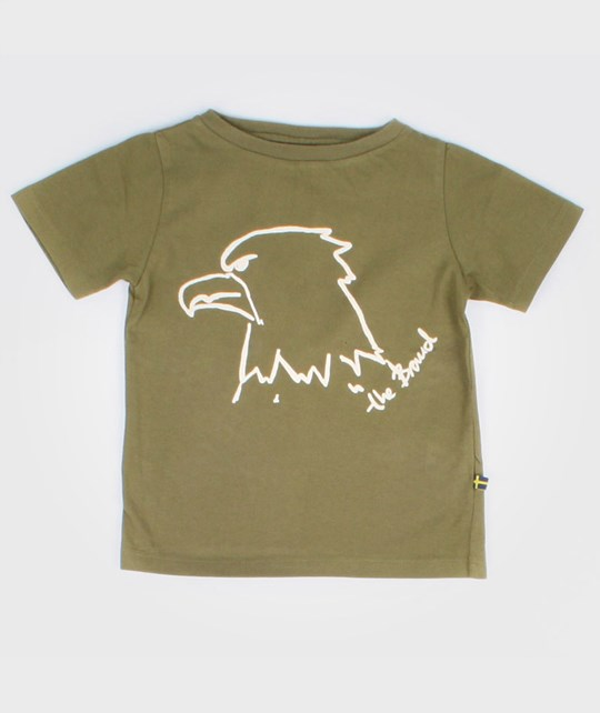 The BRAND Tee Eagle Green Green
