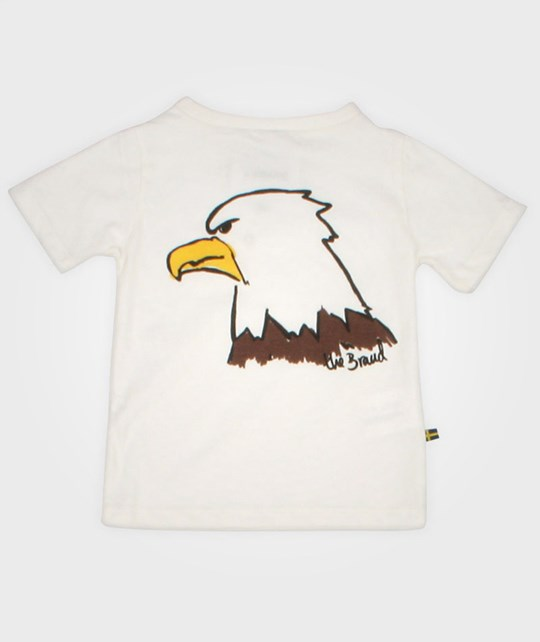 The BRAND Tee Eagle Hvit White